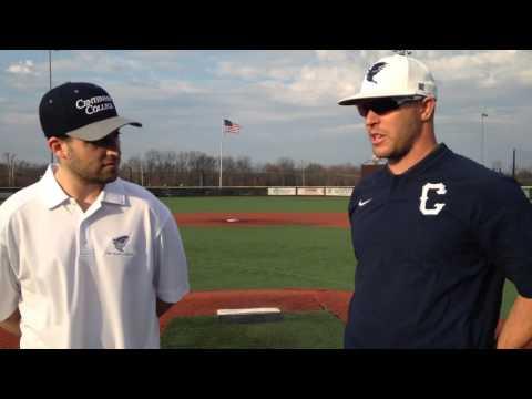 Centenary (NJ) Baseball Post Game 3/25/16