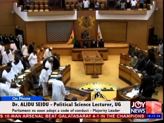 Ghana Parliament - News Desk (2-10-14)