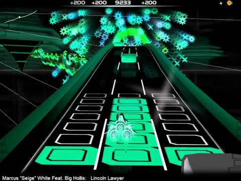 (Audiosurf) Marcus ´´Seige´´ White feat. Big Hollis - Lincoln Lawyer