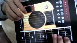 GuitarPad A guitar App on iPad special for fingerstyle