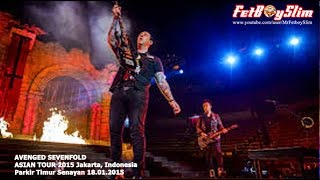 A7X AVENGED SEVENFOLD - SEIZE THE DAY live in Jakarta, Indonesia 2015