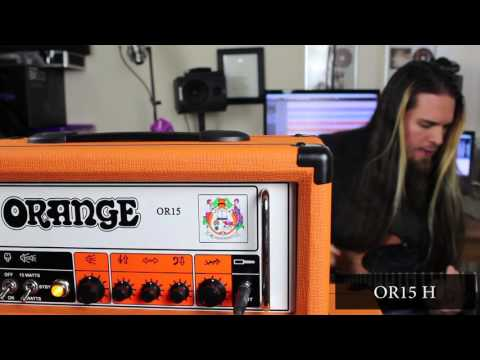Orange OR15 H vs Jim Root #4 Terror (Rockerverb Pre) (Comparison) - Ibanez RG 421 MOL (Quantum)