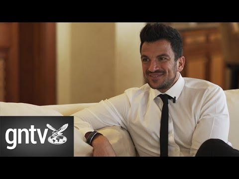 A chat with Peter Andre