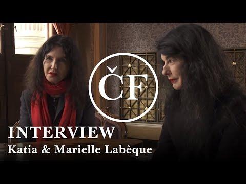 Katia & Marielle Labèque: Interview (Česká Filharmonie)