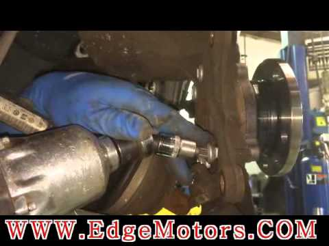 2006-2008 Audi A3 A4 front wheel bearing replacement DIY by Edge Motors