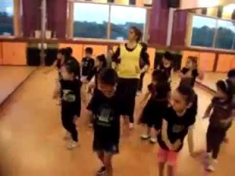 tie tie phiss dance performance by kids of step2step dance studio...
