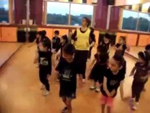 tie tie phiss dance performance by kids of step2step dance studio...
