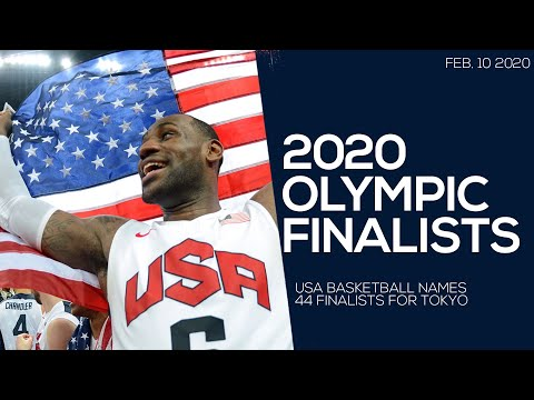 USA MEN'S 2020 OLYMPIC FINALISTS // ROAD TO TOKYO