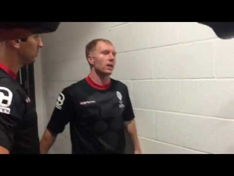Paul Scholes Ice Bucket Challenge | Class of 92 | FullTimeDEVILS