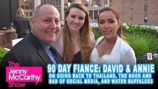 "David & Annie from TLC's ""90 Day Fiancé: Pillow Talk"" on Thailand, life in America, and trolls"