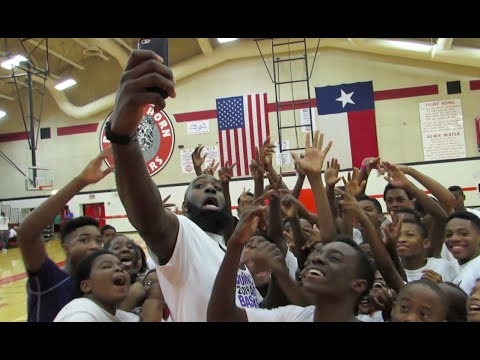 2014 Quincy Acy Foundation Basketball Camp