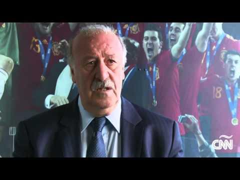 Vicente del Bosque habla del Barça y el Atlético de Madrid