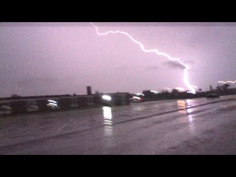 Lightning Strike Bowman North Dakota August 30, 2014