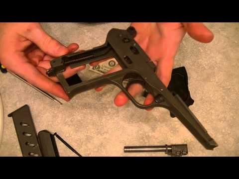 CZ 52 CZ-52 czech model 52! Assembly and Takedown with grips