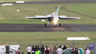 Wings Over Illawarra 2017 - F/A-18 Hornet Display