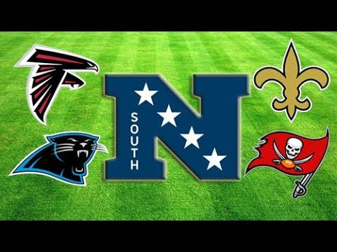 2017 NFL Division Preview & Predictions: NFC SOUTH!