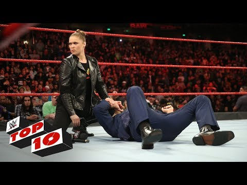 Top 10 Raw moments: WWE Top 10, February 26, 2018 thumbnail