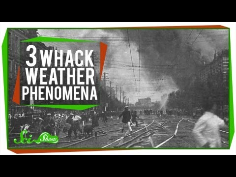 3 Whack Weather Phenomena