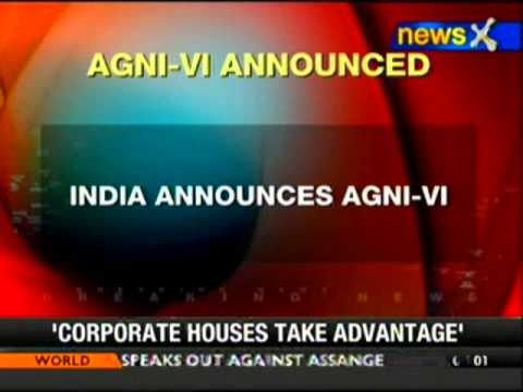 Agni-VI to be India's first intercontinental ballistic missile