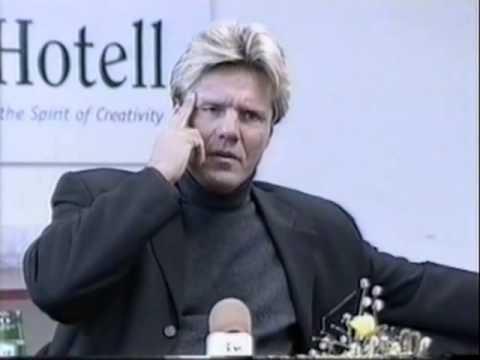 Dieter Bohlen    Press Conference, Tallinn Park Hotell 21 03 1998 с переводом