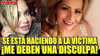 Carolina Sandoval pone en su lugar a Carmen Jara defendiendo a Chiquis Rivera