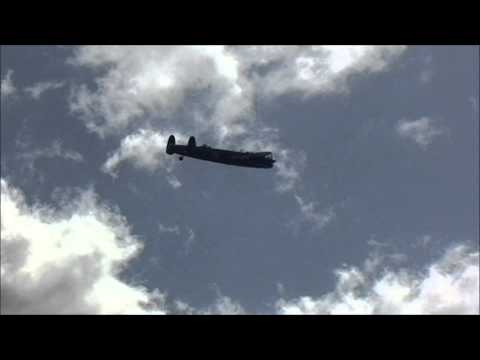 Lancaster Flypast - 70th anniversary of the Dambuster raids over Germany
