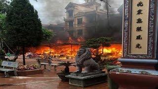 Cháy ở đền Mẫu Đồng Đăng ngày mồng 5 Tết-Tin Tức Sự Kiện