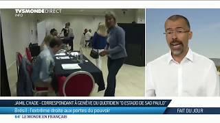 Elections au Brésil: l'extrême droite de Jair Bolsonaro aux portes du pouvoir
