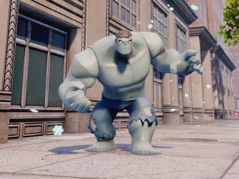 DISNEY INFINITY 2 MARVEL SUPERHEROES - GREY HULK