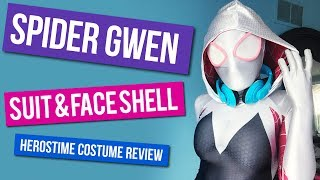 Spider Gwen Suit & Face Shell -  Heros Time Review