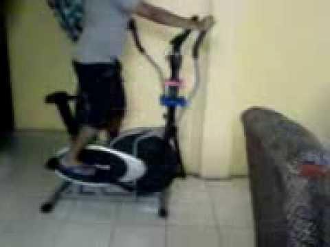 flex magnetic trainer elliptical body
