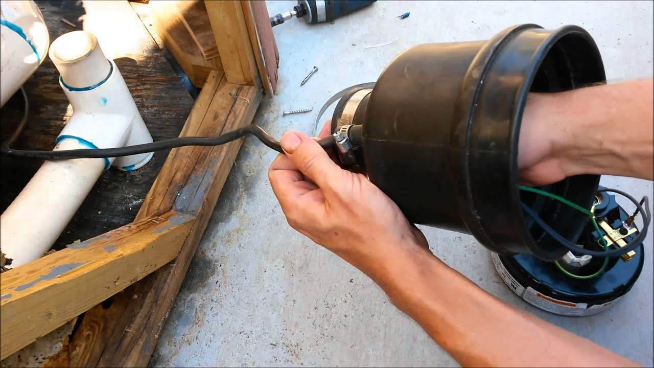 Howto replace the air blower motor in your hot tub or spa for Hot tub electric motor repair