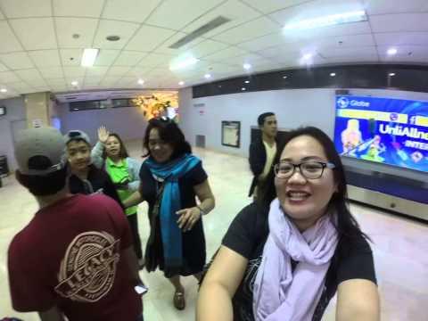 [gopro] Arrival at Mactan,  Cebu International Airport