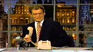 Late Show w/David Letterman - Dick Assman Part 2