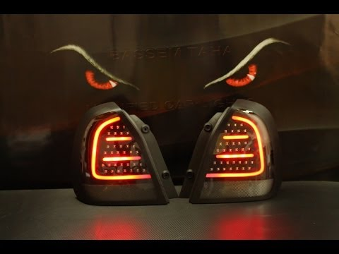 DAEWOO NUBIRA 2 TAIL LIGHTS #1