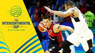 Flamengo v Austin Spurs - Semi-Final - Full Game - FIBA Intercontinental Cup 2019