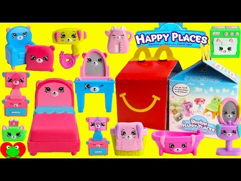 2018 Shopkins Happy Places McDonald's Happy Meal Toys