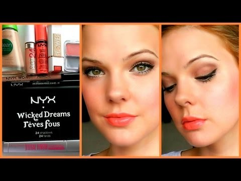 CLASSIC LOOK with DRUGSTORE MAKEUP!!! (Discount June)