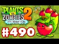 Plants vs. Zombies 2: It's About Time - Gameplay Walkthrough Part 490 - Apple Mortar! World Keys!