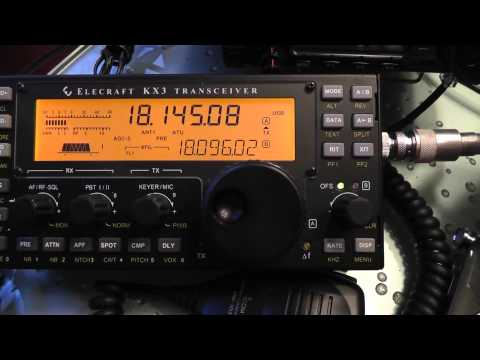 VP5/W5CW on 18 Mhz in Turks and Caicos Islands, 17 Meters Ham Radio, Amateur Radio