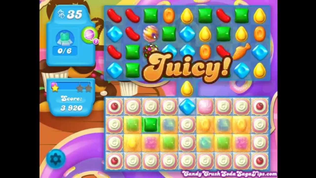 Candy Crush Soda Saga Level 40 Candy Crush Soda Saga Level