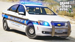 GTA 5 LSPDFR #354 - Stole My Police Car!