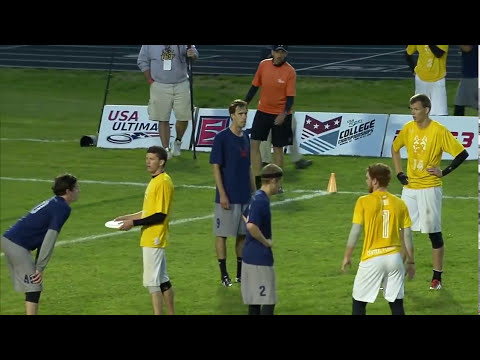Central Florida vs Carleton College (Open Semi), May 26 2013 College Championships