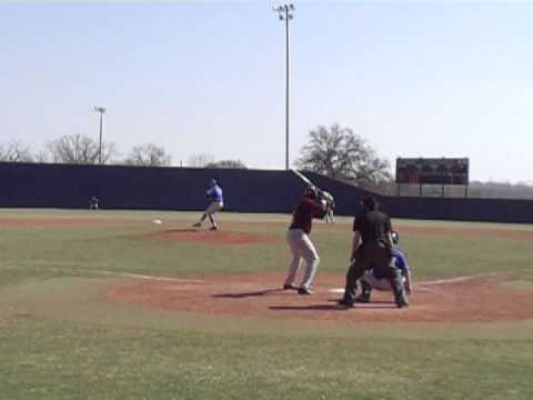 Mitchell ( Mitch ) Langer - Home Run #5 of 2014 Season Indian Hills Community College