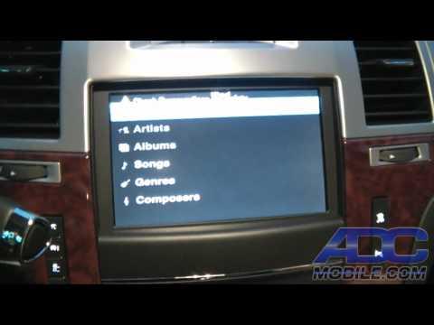 2012 Cadillac EXT: GM Navi Bypass/DVD/iPod/Rear Cam Module