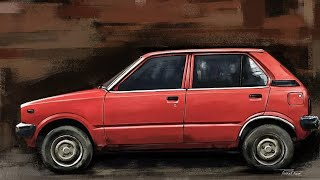 Maruti 800 AC, car that changed Indian automobile industry,old but still good.