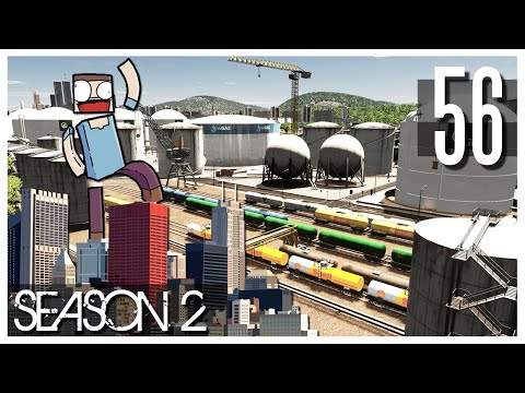 Cities Skylines - S2 Ep.56 : Oil Harbor!