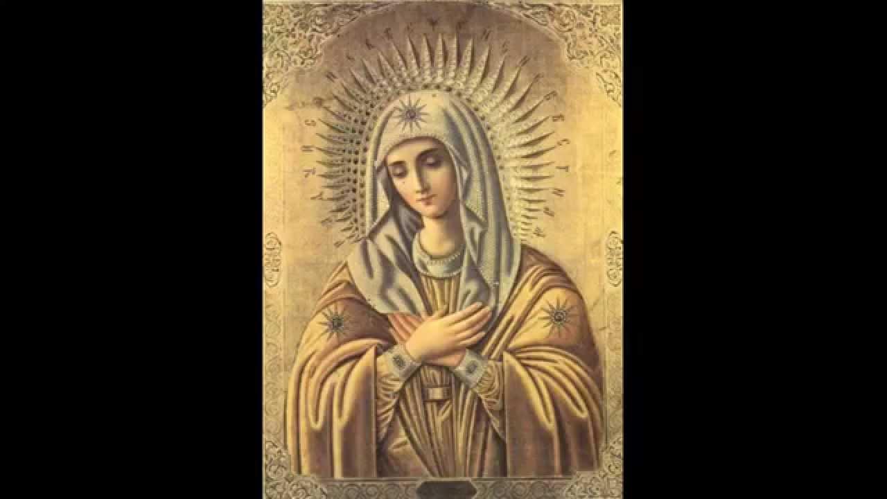 Икона пресвятой богородицы арапетская (аравийская, о всепетая мати)редкость о всепетая мати, рождшая всех святых