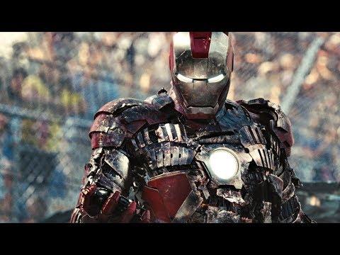 Бой в Монако. Железный Человек против Хлыста(Ивана Ванко) | Железный человек 2 | 4K ULTRA HD