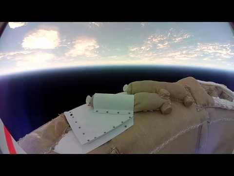 Landing on Mars : Test Flight by NASA - Video